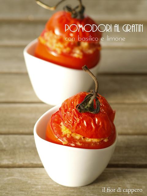 pomodori gratinati