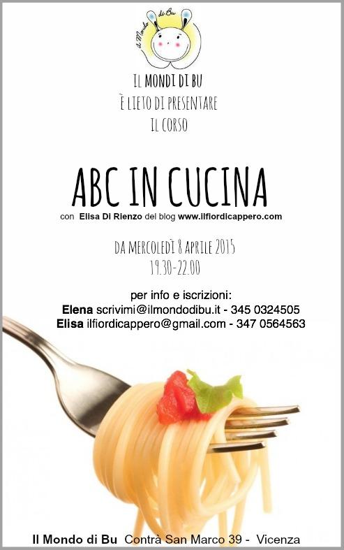 abc in cucina - il fior di cappero - Corsi Cucina Vicenza