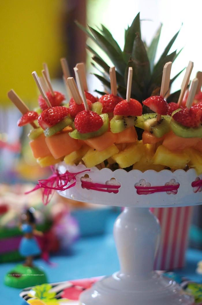 spiedini di frutta