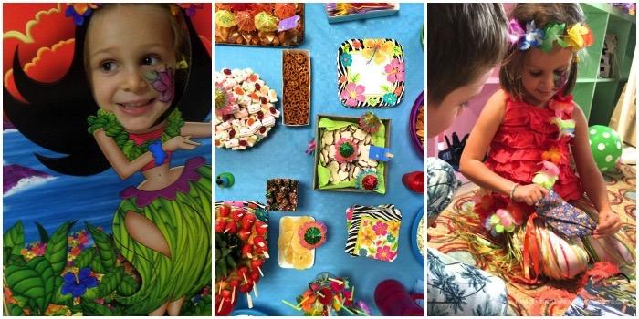 hawaii party buffet