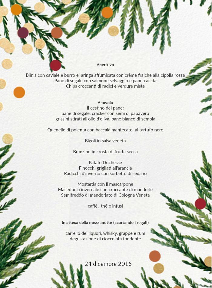 Poesie Di Natale Venete.Vigilia Di Natale Mise En Place Gingerbread Mood Il Fior Di Cappero