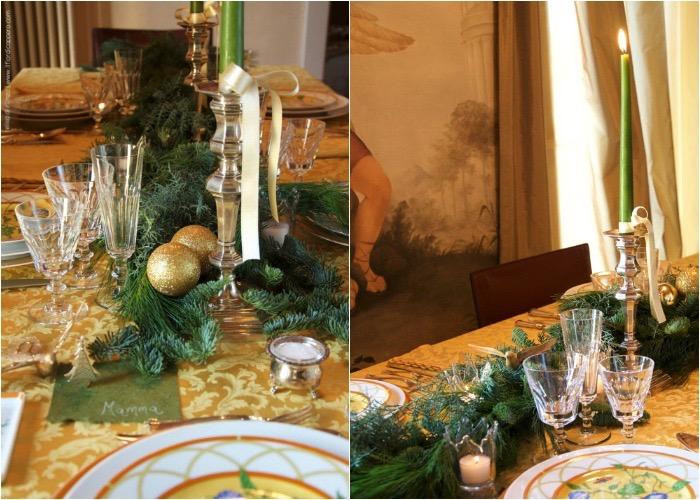 Il Pranzo Di Natale Mise En Place Sun Day Christmas Il Fior Di