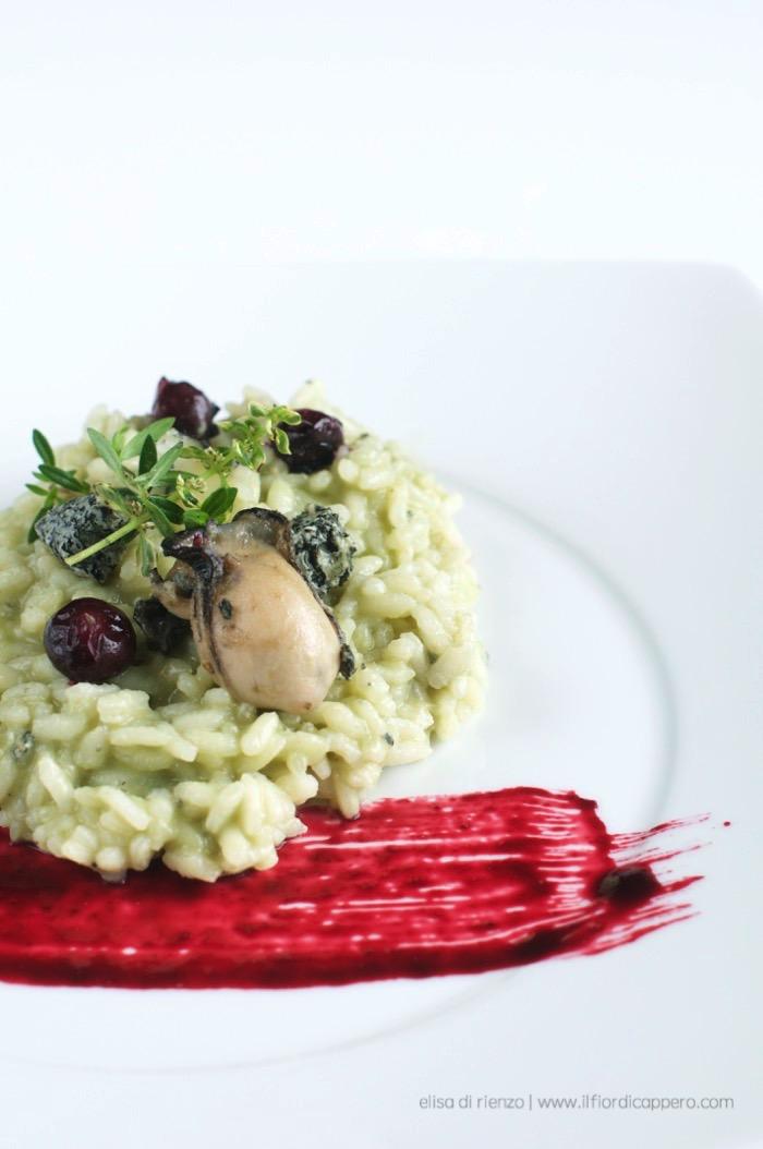 risotto ostriche e riordinato