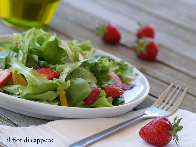insalata-di-fragole