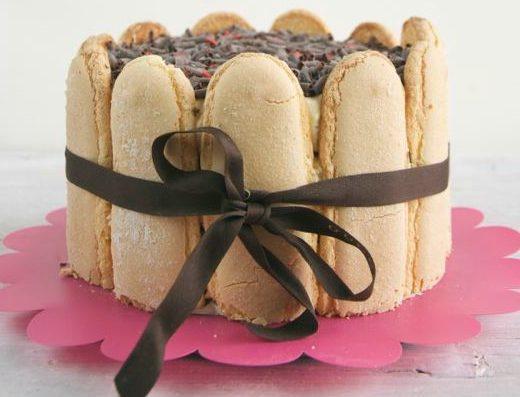 sponge cake tiramisu