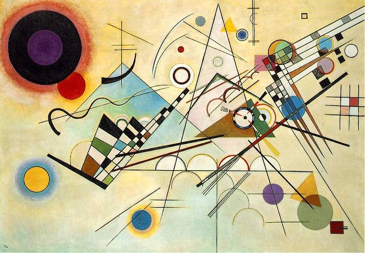 Vasilij Kandinskij, Composizione VIII, 1923