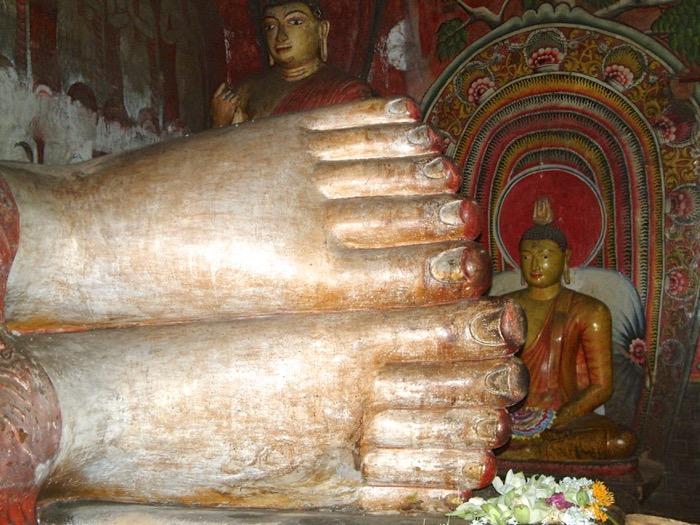 dambulla templi rupestri