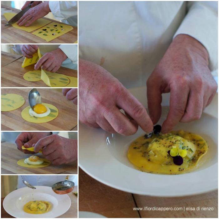 raviolo all'uovo