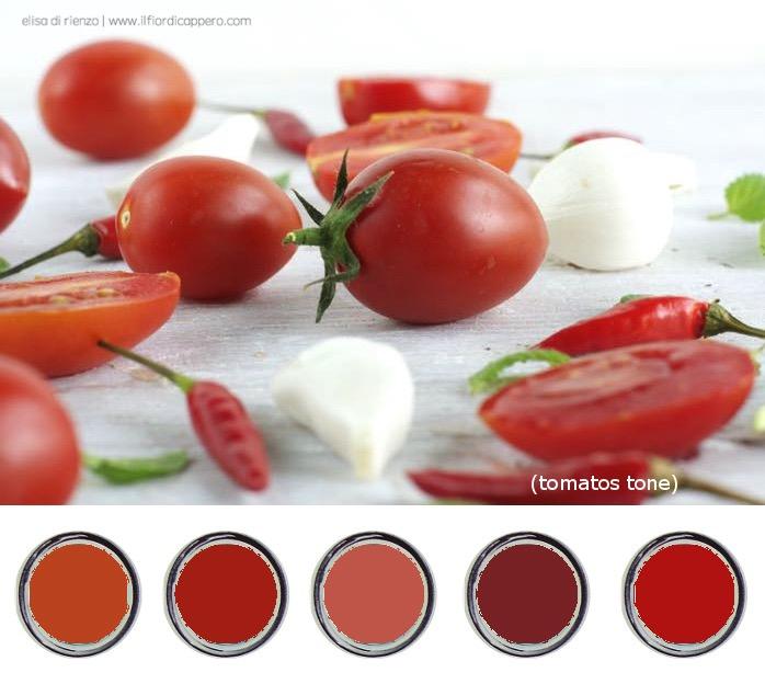 i colori del pomodoro