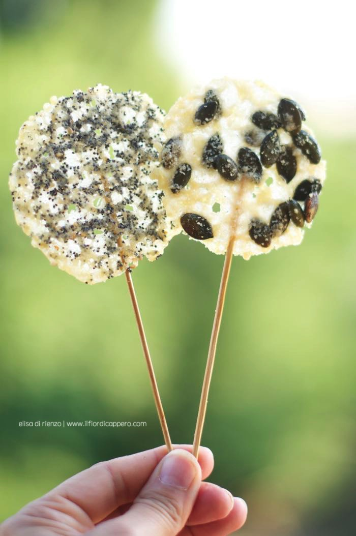 lollipops lecccalecca salati al parmigiano