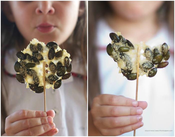 lollipops parmesan