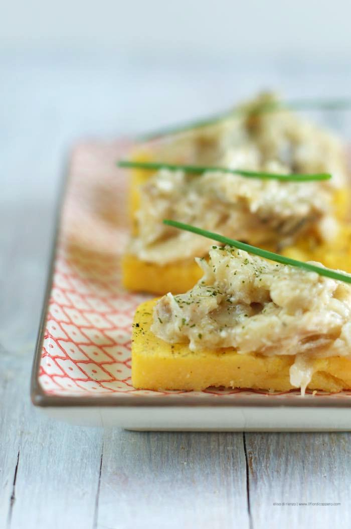 stoccafisso baccalà con polenta