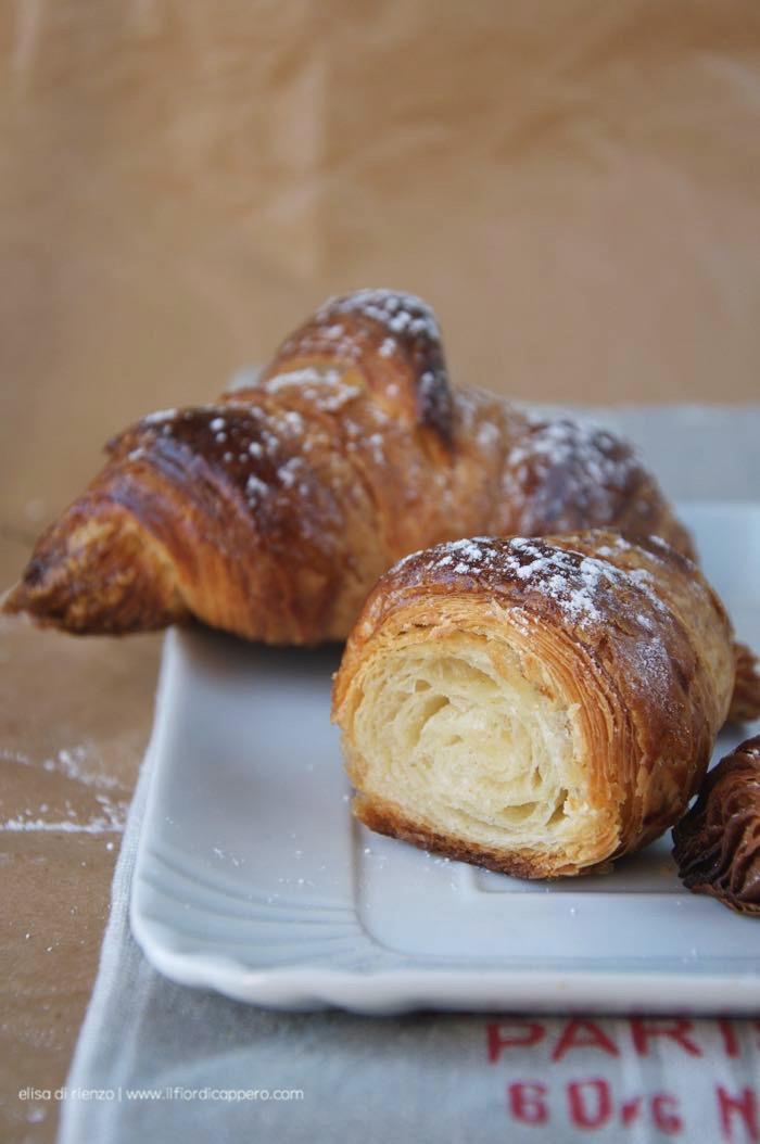 la sfogliatura del croissant