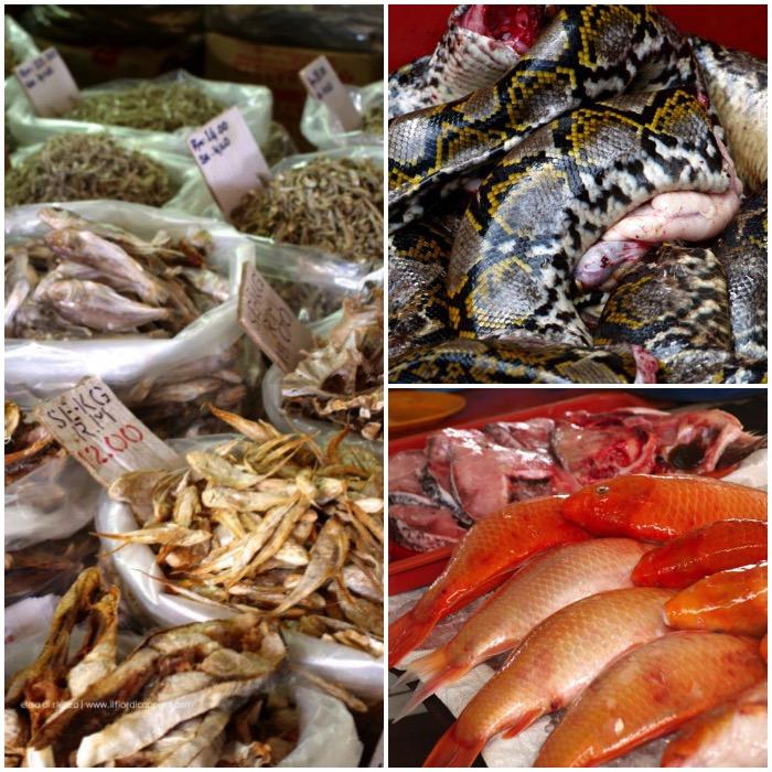 mercato in borneo