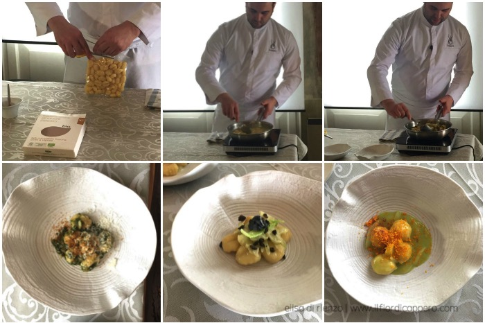 chef Dinato interpreta gli gnocchi mamma emma