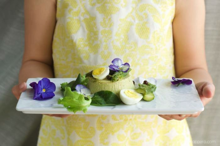 sformato di asparagi verdi e ricotta