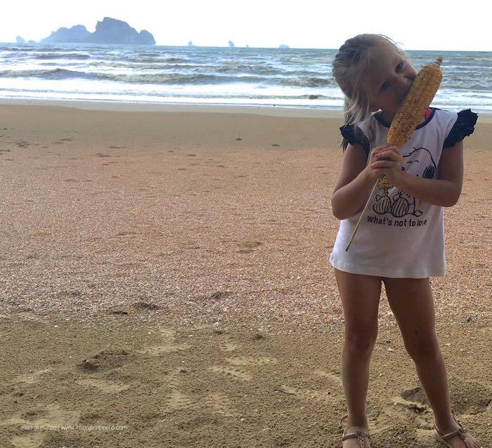 pannocchie a Krabi