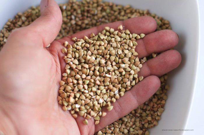 chicchi di grano saraceno