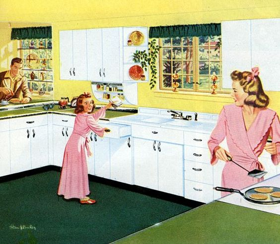 Cucina anni 50 il fior di cappero - Cucina anni 50 americana ...