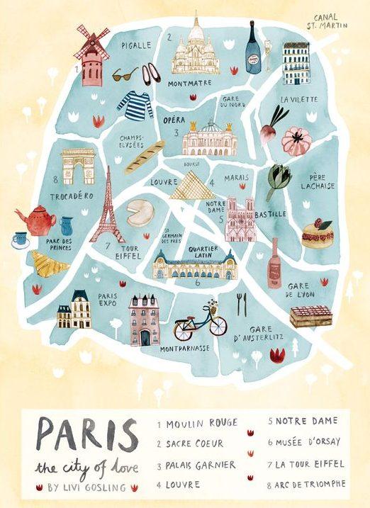 itinerario-parigi