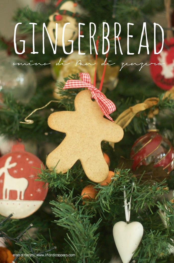 Gingerbread, biscotti pan di zenzero
