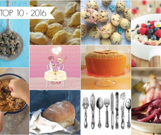 Le ricette più lette nel 2016