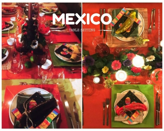 table setting mexico
