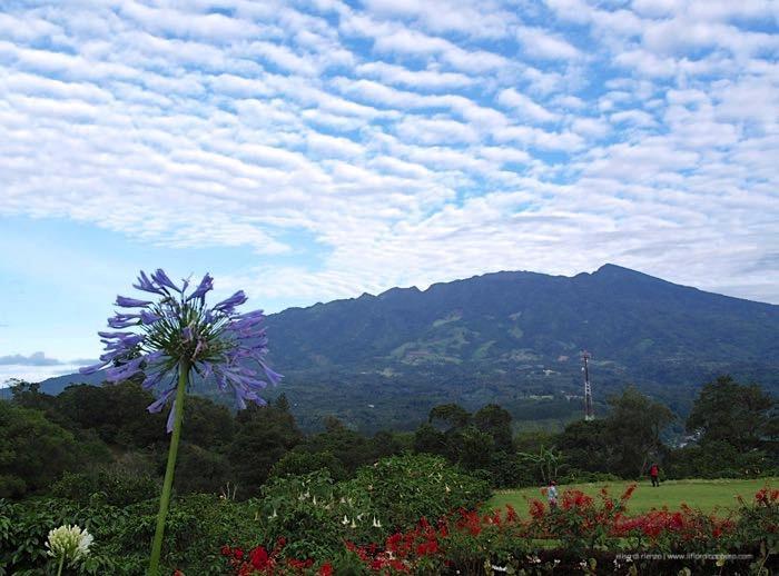 Boquete, il vulcano Barù