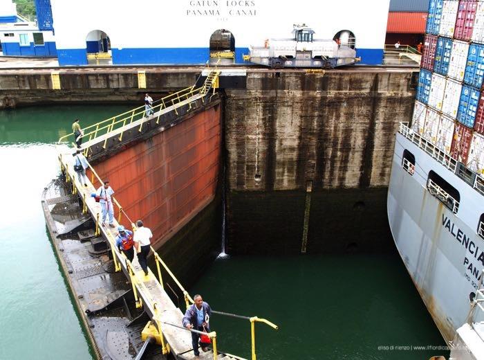 Gatun locks, il canale di Panama