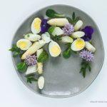 Uova e asparagi bianchi di Bassano