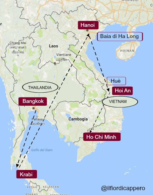 vacanza in vietnam