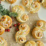 Lussekatter, il dolce svedese per Santa Lucia