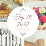Le ricette (e non solo) più lette del 2017