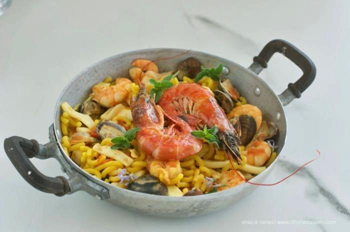 Fideuà piatto spagnolo
