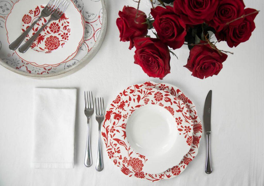 Tognana tavola romantica