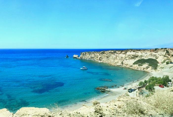 spiaggia Triopetra creta