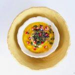 La mosa, zuppa di zucca e farina di mais