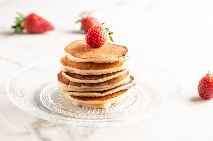 pancake al kefir