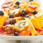 Macedonia di frutta speziata