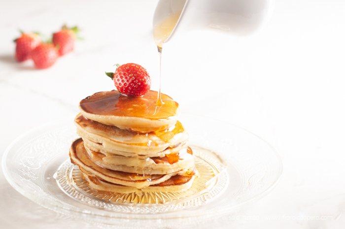 pancake kefir