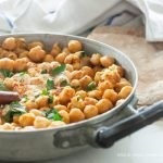 Chana masala, lo stufato di ceci all'indiana