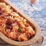 nella foto il Red Rice, il riso rosso dei Gullah Geechee