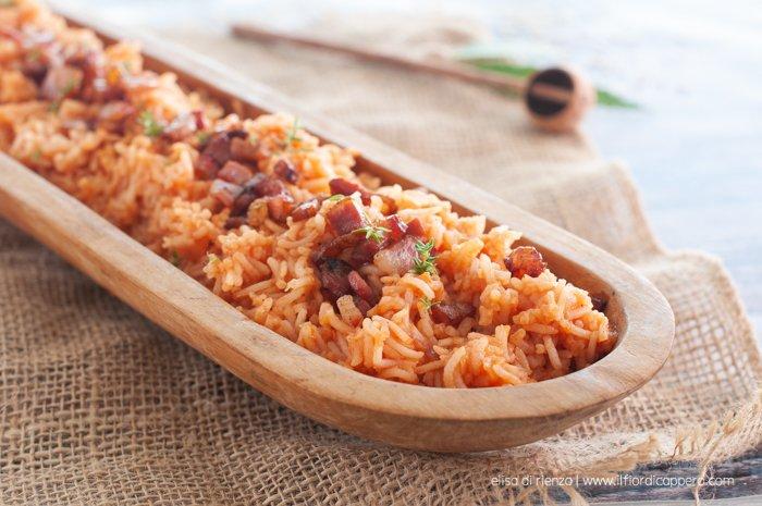 foto del Red Rice, ricetta dei Gullah Geechee