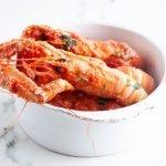 Scampi alla busera: 2 ingredienti per un piatto delizioso