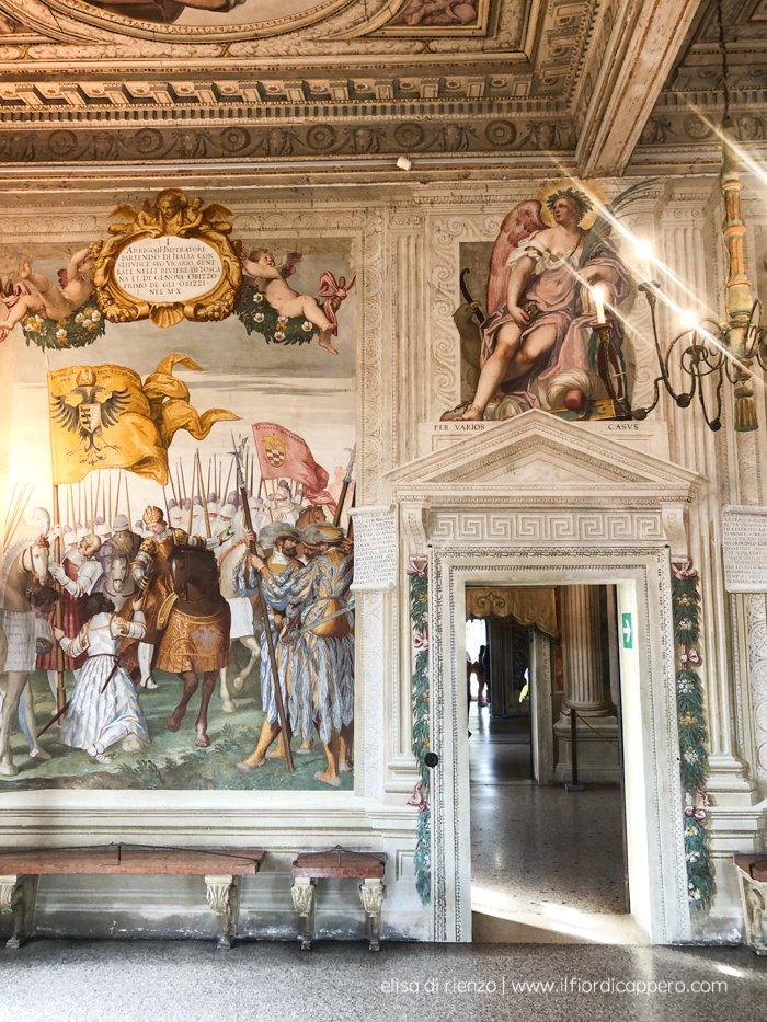 affreschi castello del Catajo