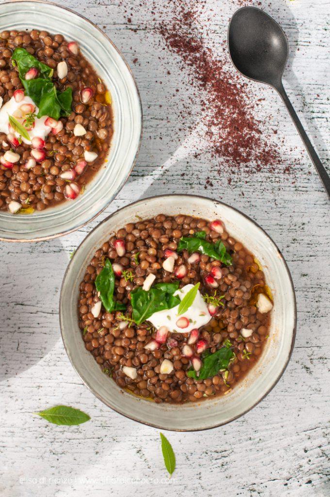 stufato lenticchie e zucca