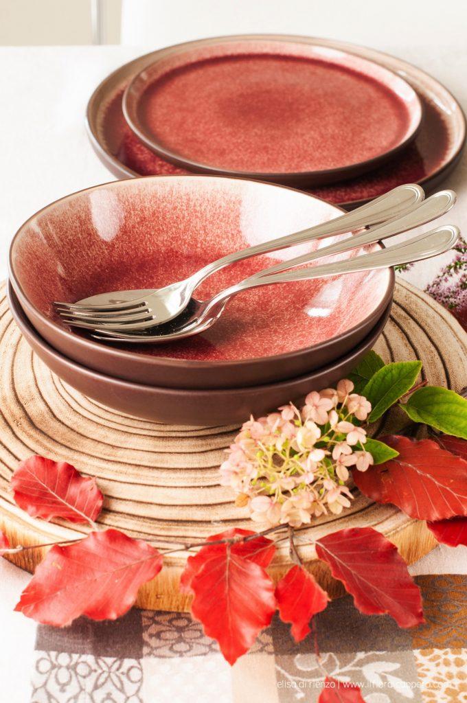 tavola autunno Fontebasso tognana