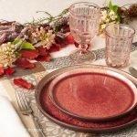 La tavola d'autunno: mise en place elegante ma informale