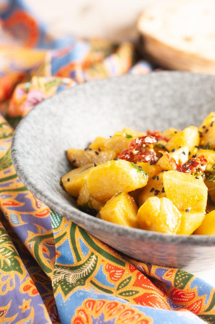curry di patate ricetta indiana