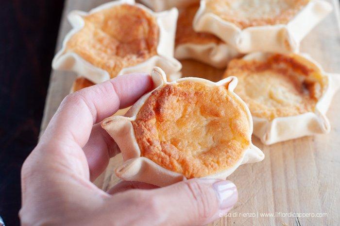 formaggelle dolci di ricotta